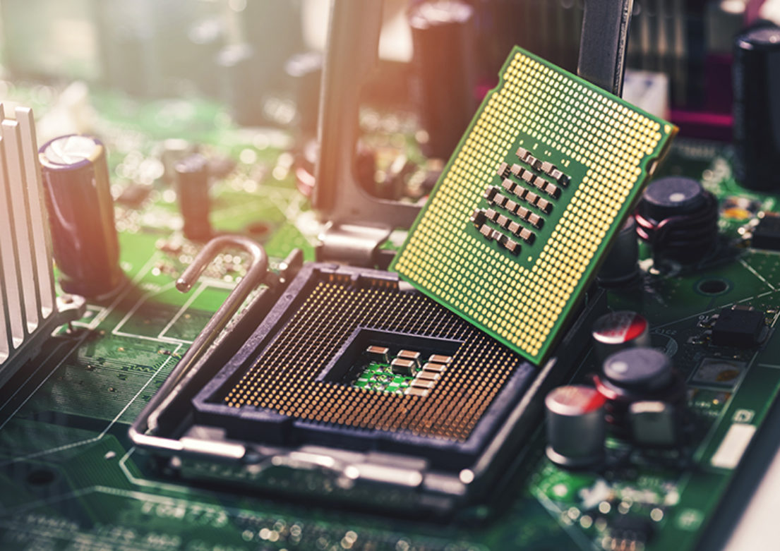 Technology chip 800