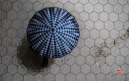 Umbrella thumb